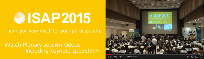 Watch ISAP2015 videos